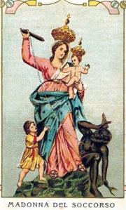 Un antico santico della Madonna del Soccorso