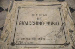 Pizzo Calabro: la tomba di Gioacchino Murat