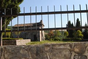 Il campo per l'inumazione con la Cappella