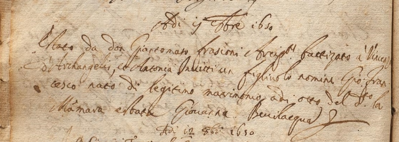 1650 nascita Giovanni d'arcangelo.JPG